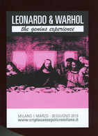 Warhol Leonardo & Warhol The Genius Experience Milano 2019 - Warhol, Andy