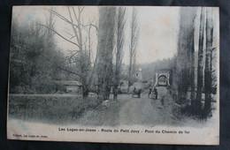 CPA Yvelines - Les Loges En Josas (78350) – Route Du Petit Jouy  – Pont Du Chemin De Fer - Pichard – Animée – Non écrite - La Verriere