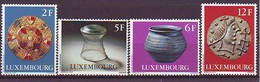 LUXEMBOURG 924-927,unused - Archéologie