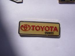 Rare Pin S  AUTOMOBILE TOYOTA TAHITI - Toyota