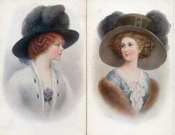 Femme Illustrée 612, Chapeau X 2 (tsn 1278 - 1900-1949