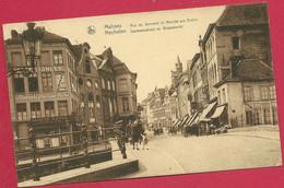 C.P. Mechelen  = Sermoenstraat  En  Graanmarkt - Mechelen