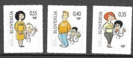 SLOVENIA, 2020, MNH, HEALTH, EARLY DETECTION,3v - Otros