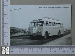 PORTUGAL - AUTOCARRO SINTRA-ATLANTICO -  LISBOA -   2 SCANS  - (Nº42978) - Lisboa