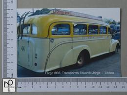 PORTUGAL - TRANSPORTE EDUARDO JORGE -  LISBOA -   2 SCANS  - (Nº42979) - Lisboa