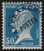 Préoblitérés N°68, Pasteur 50c Bleu, Neuf * COTE 150€ - TB - 1893-1947