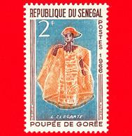 Nuovo - MNH - SENEGAL - 1966 - Giocattoli - Bambola - Doll Gorée - L' Elégante - 2 - Senegal (1960-...)