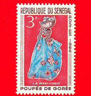 Nuovo - MNH - SENEGAL - 1966 - Giocattoli - Bambola - Doll Gorée - La Marchande - 3 - Senegal (1960-...)