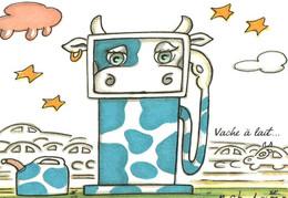 CPM - VACHE LAITIÈRE - Illustration Marc CHAUBARON ... - Cows