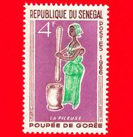 Nuovo - MNH - SENEGAL - 1966 - Giocattoli - Bambola - Doll Gorée - La Pileuse - 4 - Senegal (1960-...)