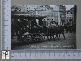 PORTUGAL - CARROS COMPª JOAQUIM SIMPLICIO -  LISBOA -   2 SCANS  - (Nº42986) - Lisboa