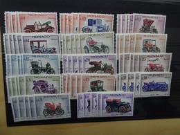 Monaco 5 Sätze Michel 673-86 Postfrisch Autos (16149) - Unused Stamps