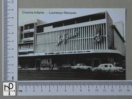 MOZAMBIQUE - CINEMA INFANTE -  LOURENÇO MARQUES -   2 SCANS  - (Nº43004) - Mozambique