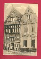 C.P. Mechelen  = Oude Huizen De Havermarkt  :  DEN DUIVEL EN  HET PARADIJD - Mechelen