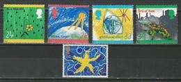 GB SG 1629-33, Mi 1414-18 ** MNH - Ungebraucht