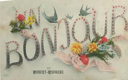 CPA - BONJOUR DE ROBERT-ESPAGNE - Otros Municipios