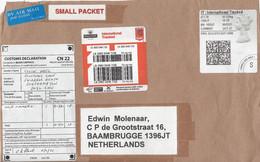 Groot Brittannie Pakketpost Met Diverse Vignetten (1714) - Storia Postale
