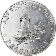 France, Ecu, Euro Des Villes, 1993, Draguignan, SUP, Aluminium - France
