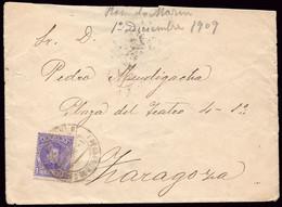 """España - Edi O 244 - Carta Mat """"Apeadero De Gracia 1/12/09"""" - Cartas"""