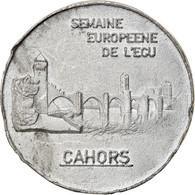 France, Ecu, Euro Des Villes, 1992, Cahors, TTB, Tin-Zinc - France