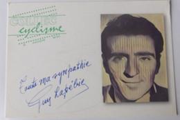 Guy LAPEBIE - Signé - Dédicace - Autographe Authentique - - Cycling