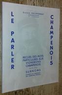 Le Parler Champenois - Unclassified