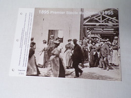 Feuillet Timbre 1er Jour La SODOP-1995-premier Siècle Du Cinéma - 1990-1999