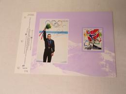 Feuillet Timbre 1er Jour La SODOP Spécial JO Norvège 1994 - 1990-1999
