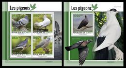 Djibouti 2021 Pigeons. (207) OFFICIAL ISSUE - Palomas, Tórtolas