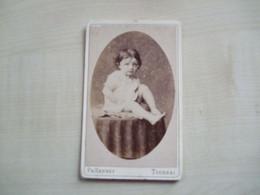 Photo Ancienne   ENFANT  Photographe PH Hannet  TOURNAI - Anonymous Persons