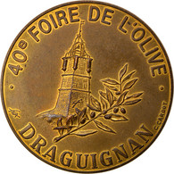 France, 5 Ecu, Euro Des Villes, 1993, Draguignan, SUP - France