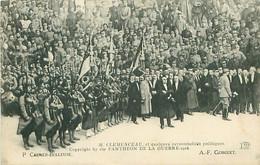 CPA - M.CLEMENCEAU ET QUELQUES PERSONNALITÉS POLITIQUES - PANTHÉON DE LA GUERRE 1918 - Guerra 1914-18