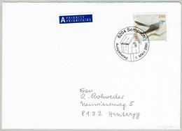 Schweiz / Helvetia 2006, Brief Ersttag Sempach - Hinteregg, Kuckuck / Cuculus Canorus - Cuckoos & Turacos