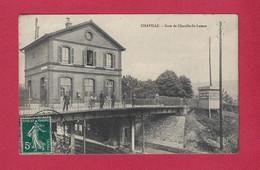 92 - CHAVILLE - Gare De CHAVILLE ST LAZARE - Chaville