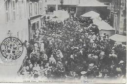 18 - CHER - CULAN - RARE ! - Une Loué De Domestiques - CPA Postée En 1905 Deux Scans - Culan