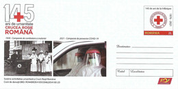 2021 - RED CROSS - 145 YEARS - ROMANIAN NATIONAL RED CROSS - Postal Stationery