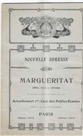 75,- PARIS - CATALOGUE DES INSTRUMENTS DE MUSIQUE  MARGUERITE Année 1909 - 1900 – 1949