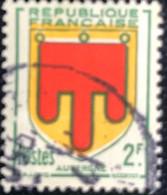 République Française - France - P5/8 - (°)used - 1949 - Michel 849 - Wapen Van Auvergne - Usados