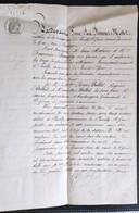 Ain Pouilly Saint Genis 1874 - Manoscritti