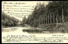 CP ( Les Bords De La Meuse Burnot)  Obl. Tervuren 10/09/1903 + Griffe Oblitérante De TERVUREN - Langstempel