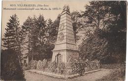 Villersexel : Monument Aux Morts 1870-71 - Autres Communes