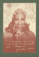 CARTE POSTALE PUB CLACQUESIN JOSEPHINE BAKER - Entertainers