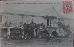 Nouvelles Hébrides : Habitation Du Résident Français à Port Vila - Vanuatu