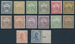 ** 1913 Turul Sor Fekvő Vízjellel (230.000) (20f és 50f Kis Gumihiba / Gum Disturbance) - Unclassified