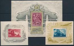 ** 1948-1949 Lánchíd I-II-III Blokkok (150.000) (apró Hibákkal / Minor Faults) - Unclassified