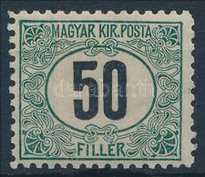 * 1903 Zöldportó 50f 11 1/2 Fogazással (120.000) - Unclassified