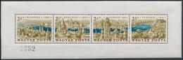 ** 1961 Bélyegnap Panoráma Fogatott Kisív (100.000) - Unclassified