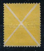 1858 Használatlan Sárga Andráskereszt Jó Minőségben, Javított Gumival. Rendkívül Ritka!! - Unclassified