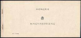 ** 1954 Repülőnap Bélyegfüzet (50.000) / Aviation Day Stamp Booklet - Unclassified