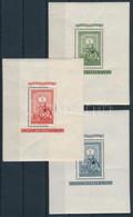 ** 1951 80 éves A Magyar Bélyeg Blokksor (ráncok/creases) (51.000) - Unclassified